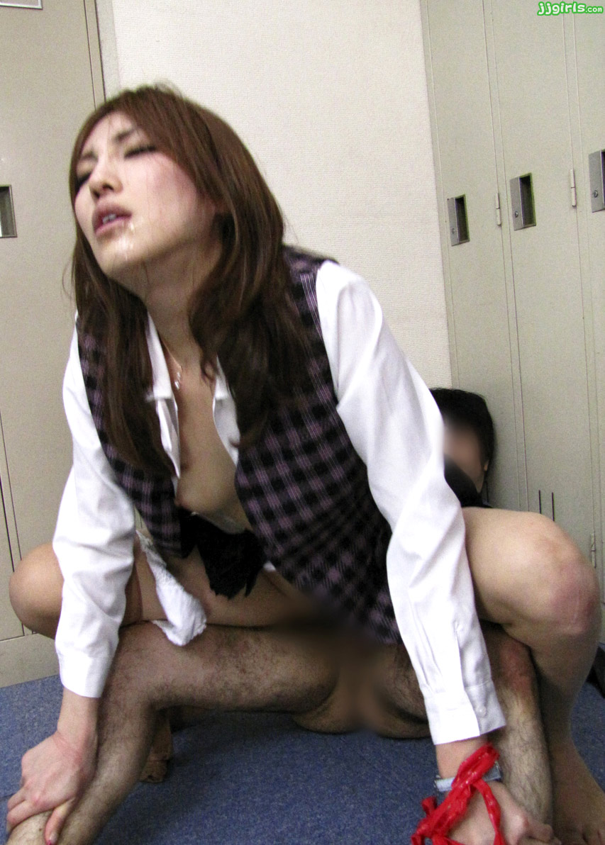 Adorable kana miura on her knees being skull fucked 6
