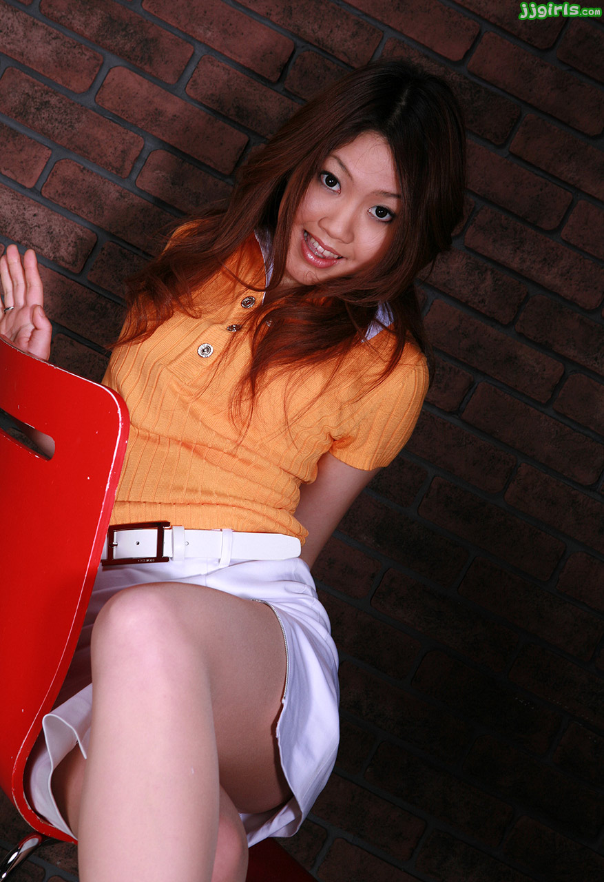 Rio sakaki in red puts sex toys in asshole